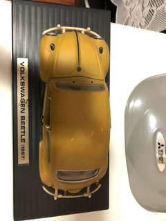 TODAY ONLY -Rare Volks Beetle car model