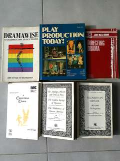 Directing Drama Play Books