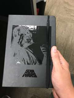 Star Wars Darth Vader notebook
