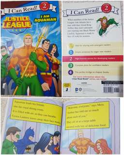 I Can Read Lev 2 I am Aquaman