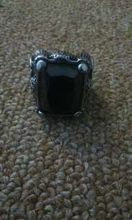 Ring Black Stone Vintages Bikers