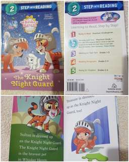 Step Into Reading Lev 2 Palace Pets The Knight Night Guard