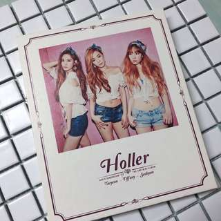TTS TAETISEO HOLLER 專輯