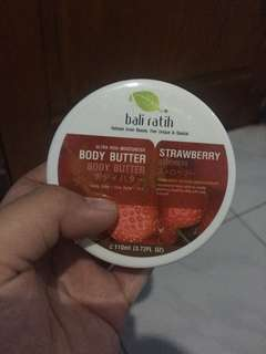 Body butter bali ratih strawberry