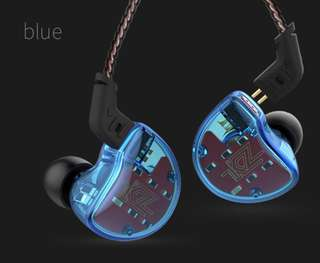 KZ ZS10 IEM with free resin casing and 2 pairs memory foam tips ( with free registered post)