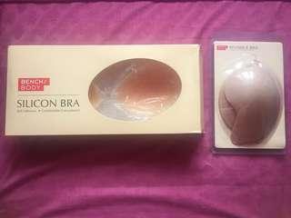 Silicon Bra and Invisible bra (bundle)