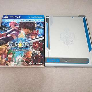 PS4 Star Ocean Steelbook Edition