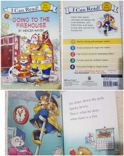 I Can Read Going to the Firehouse