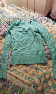 XS American Eagle shirt sweater