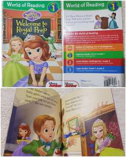 World of Reading Level 1 Sofia the First Welcome to Royal Prep