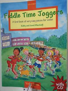 Preloved Fiddle Time Joggers violin book 1 with CD