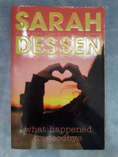 Sarah Dessens What happened to Goodbye