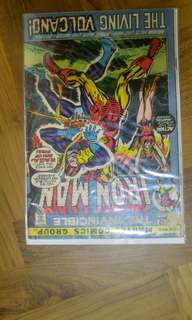 Iron Man #52 bronze age marvel