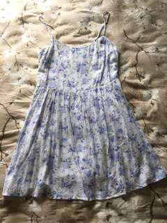 Forever 21 White Floral dress