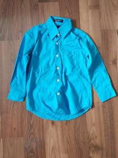 Bill Blass Long Sleeved Polo (4T)