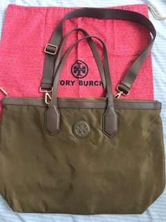 Authentic Tory Burch tote with sling