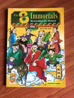 8 immortals comic book
