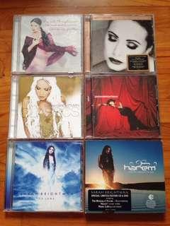 Sarah Brightman CDs