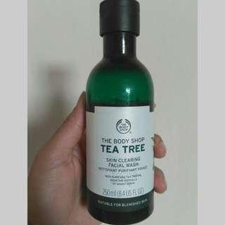 Face wash the body shop tea tree/facial wash tea tree/the body shop ori/sabun muka tea tree/sabun muka kulit berminyak/sabun jerawat