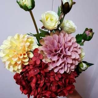 Artificial Hand Flower Bouquet