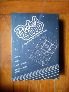 Pocketchip game entertainment console
