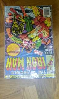 Iron Man #92 marvel bronze age comic