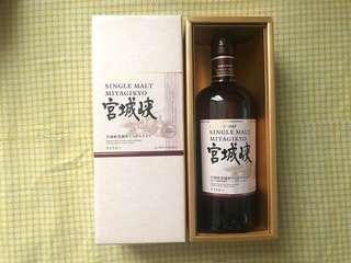 宮城峽 single malt miyagikyo 700ml 日本 威士忌