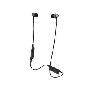 Audio-Technica ATH-CKR55BT Sound Reality Wireless In-Ear Headphones (Black)