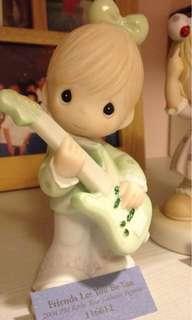 Precious Moments Figurine guitar