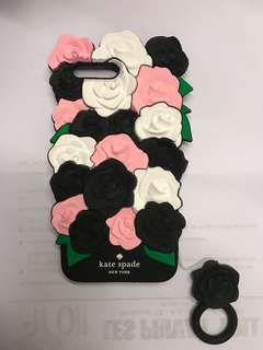 Iphone 7+ Roses Soft Rubber Case