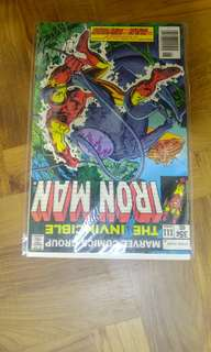 Iron Man bronze age marvel comics