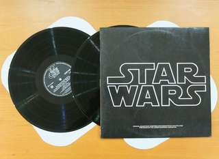 Vinyl LP:  Star Wars (1977) Original Soundtrack composed by John Williams, performed by The London Symphony Orchestra