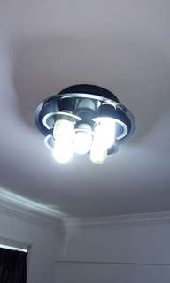 Pre-renovation 7 x ceiling lights for quick sale