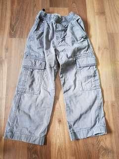 Gray Cargo Pants (5T)