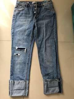 pull&bear new boyfriend jeans