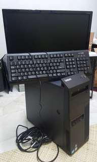 Pc desktop gaming i5 full set