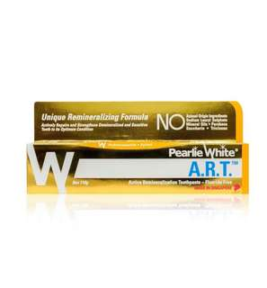Pearlie white A.R.T fluoride-free toothpaste 110gm