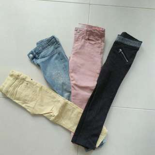 Girls Jeans/Pants Zara H&M