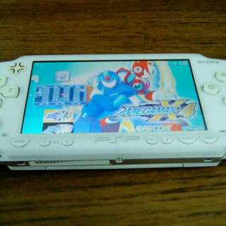 PSP with 40 game & 1 month WARRANTY