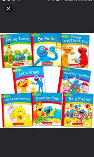 "(8books) Sesame Street Elmo ""My First"" manners"