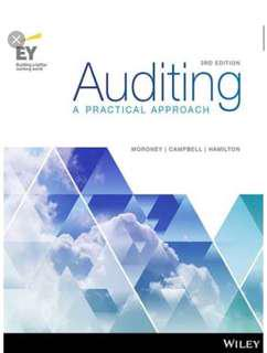 Auditing: A Practical Approach, 3rd Edition E-book(with all chapters solution)