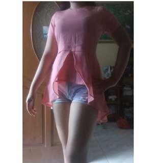 Blouse Pink salem