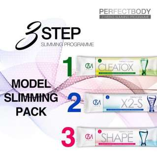 CM Less- 3 step slimming programme