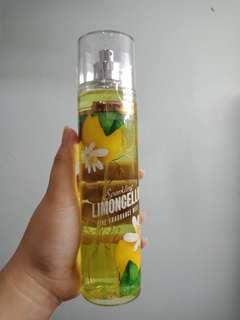 body spray sparkling limoncello