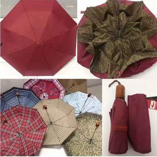 Manual Fouble Layer Umbrella (RANDOM COLOR AND DESIGN ONLY)