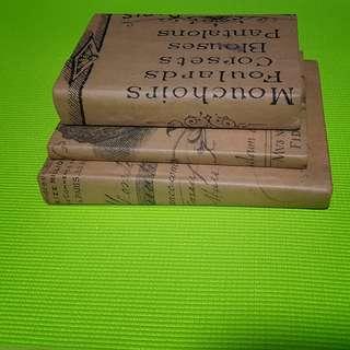 Vintage books (3 in a bundle)