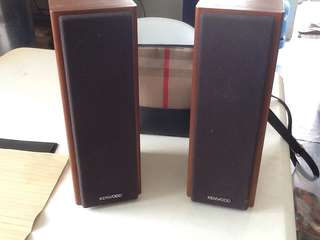 Kenwood 2 way speaker system