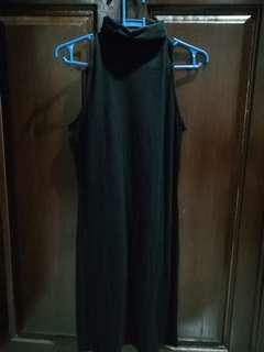 Black Terranova turtleneck dress