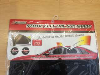 New 2pcs Adhesive Sun Shade