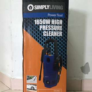 Simply Living 1650W High Pressure Cleaner